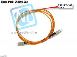 Кабель HP 2M SW LC/LC FC Multi-mode Cable-263895-002(new)