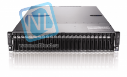 Сервер Dell PowerEdge C6220, 8 процессоров Intel Xeon 8C E5-2670 2.60GHz, 128GB DRAM, 24 отсека под HDD 2.5""