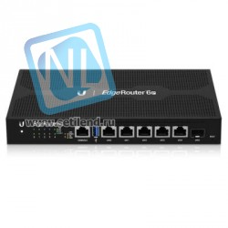 Маршрутизатор Ubiquiti 6-Port PoE EdgeRouter