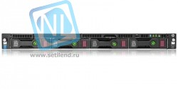 Сервер HP Proliant DL60 Gen9, 1 процессор Intel Xeon 6С E5-2603v3, 4GB DRAM, 4LFF, B140i (new)