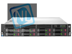 Сервер HP Proliant DL80 Gen9, 1 процессор Intel Xeon 6С E5-2609v3, 8GB DRAM, 8LFF, H240 (new)
