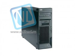 206 CPU Pentium 3000/1024/800 EMT64, 256Mb PC3200 ECC DDR SDRAM, Int. Dual Channel SATA-150 Controller, Gigabit Ethernet, 340W Tower