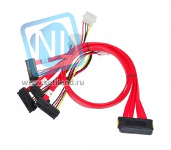 Кабель Производитель: 32pin SAS to 4 x SATA 32-pin SFF-8484 7-pin M-M cable-SAS-to-4xSFF-8484(new)