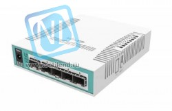Коммутатор Cloud Router Switch Mikrotik CRS106-1C-5S (RouterOS L5)