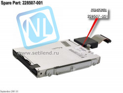 Привод HP 399311-001 1.44MB floppy disk drive 12.7mm (0.5in) height DL380G2/G3/G4-399311-001(NEW)