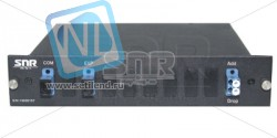 Модуль Add/Drop SNR-CWDM-DRP1-10GR-1370/1450 в 1/2-слоте