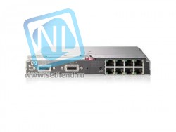 Блейд-коммутатор HP 1/10Gb Virtual Connect Ethernet для HP c-Class блейд-систем