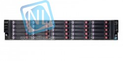 "Сервер HP ProLiant DL180 G6 SE326M1, 2 процессора Intel 6C X5650 2.6GHz, 48GB DRAM, 25 отсеков под 2.5"", Smart Array P410"