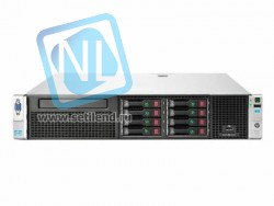 Сервер HP Proliant DL380p Gen8, 2 процессора Intel Xeon 8C E5-2670, 64GB DRAM, 8SFF, P420i/1GB FBWC
