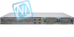 Коммутатор Juniper EX4600, 24 SFP+/SFP ports, 4 QSFP+ ports, 2 expansion slots, redundant fans, 2 AC power supplies, front to back airflow