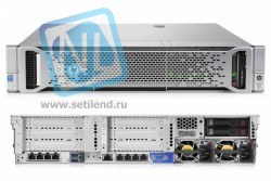 Сервер HP Proliant DL380 Gen9, 1 процессор Intel Xeon 6C E5-2620v3, 16GB DRAM, 8/16SFF, P440ar/2G, 3x300GB SAS (new)