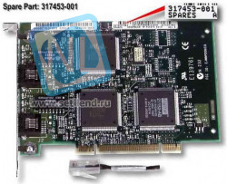 317453-001 Dual Fast Ethernet 10Base-T/100Base-TX LAN adapter (NIC) - 32-bit