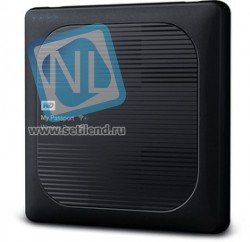 "WDBP2P0020BBK-RESN, Внешний жесткий диск WD My Passport Wireless Pro WDBP2P0020BBK-RESN 2ТБ 2,5"" 5400RPM USB 3.0/WiFi Ex"